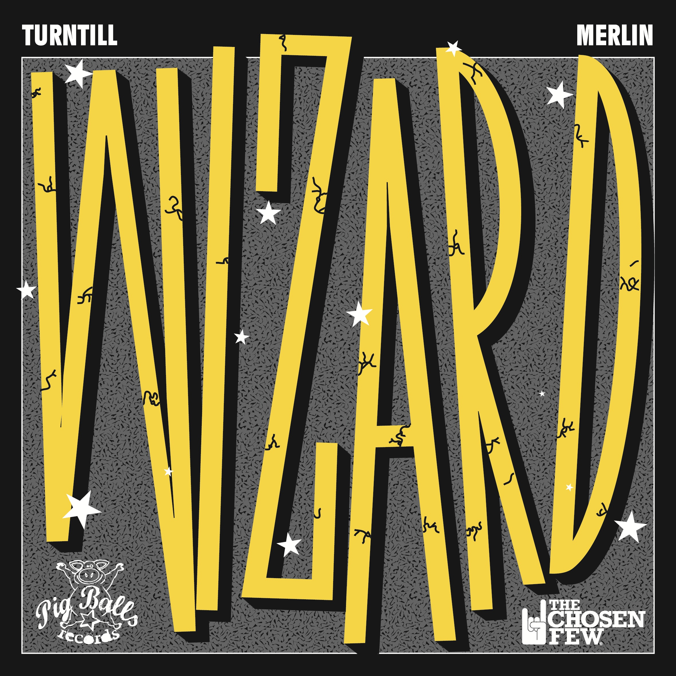 Turntill & Merlin - Wizard Cover - PBR030